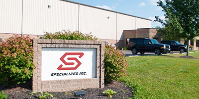 A ground view of Specialized Inc.'s Aurora, Ohio headquarters.