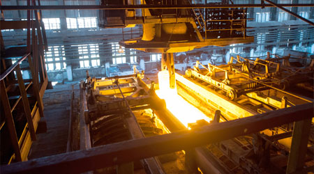 Image of a heat treat furnace.